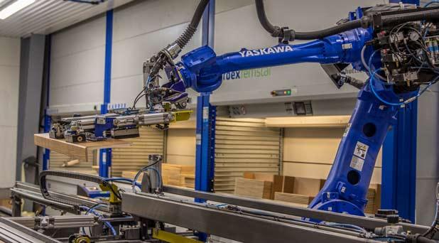 Robotar säkerställer hög precision